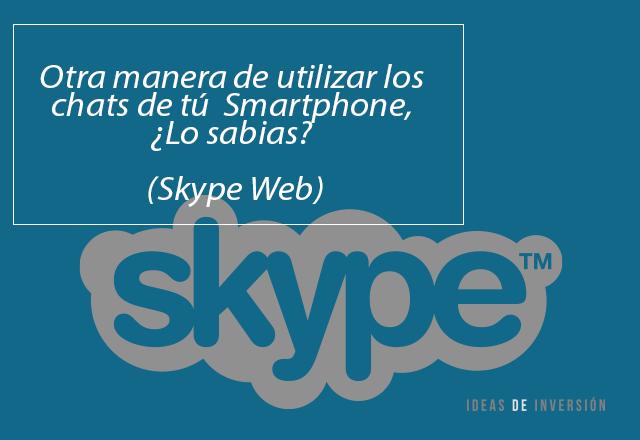 Versión Web Skype