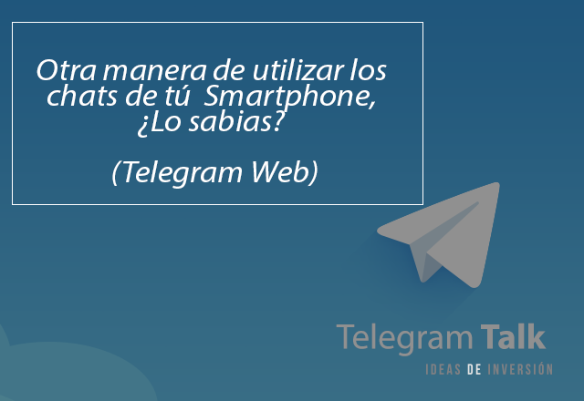 Versión Web Telegram