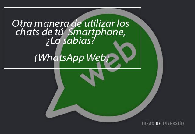 Versión Web Whatsapp