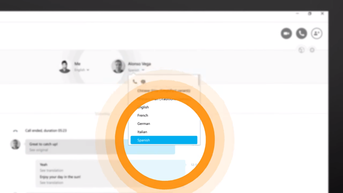 Skype ahora traduce las conversaciones de voz en tiempo real